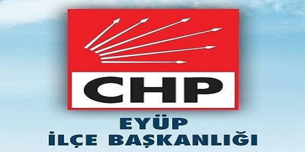 CHP EYÜP İLÇE MAHALLE KONGRE TARİHLERİ AÇIKLANDI.
