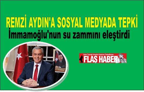 Eyüpsultan AK Parti eski belediye başkanı Remzi Aydın sosyal medyada paylaştığı mesaja tepkiler büyüyor. İBB Meclisinde gündeme gelen su zammına yönelik teklif ve AK Partinin oy çokluğuyla red edilmesine yönelik Remzi Aydın'ın attığı mesaj takipçiler tarafından kınandı.