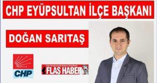 Doğan Sarıtaş 157oy olarak CHP Eyüpsultan İlçe Başkanı seçildi.