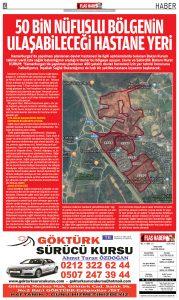 """Kemerburgaz'da yapılması planlanan devlet hastanesi ile ilgili açıklamalarda bulunan Bakan Kurum talimat verdi işte sağlık bakanlığının aradığı krıterler bu bölgeye uyuyor. Çevre ve Şehircilik Bakanı Murat KURUM; """"Kemerburgaz'da yapılması"""