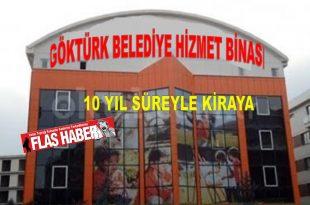2019 yılında kapatılarak Eyüpsultan belediyesine devredilen Göktürk belediyesinin taşınmazları 2011 yılında Eyüpsultan belediyesine gelir sağlamak için 3 yıldan fazla kiraya verilmesi için belediye