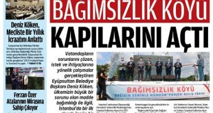 Eyüpsultan flaş haber gazetesi Ferzan özer