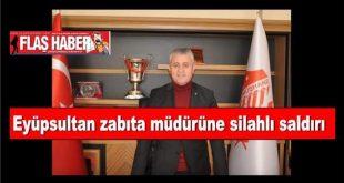 Gümüşhanespor kulübü başkanı Vahit Olgun'un hayati tehlikesinin olmadığını açıkladı.